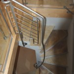 banister stair well