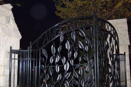 Camberwell Cemetery Gate 1