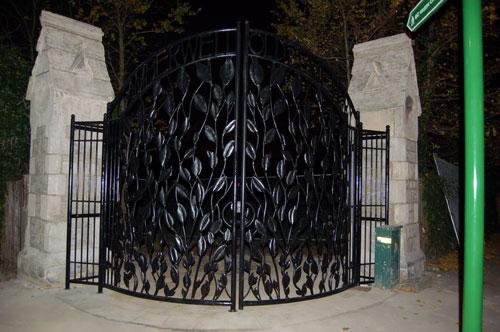 Camberwell Cemetery Gate 3