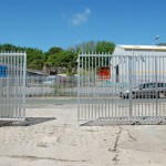 Gates at Flameworks open