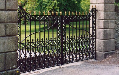 gate at Delamore