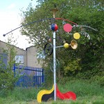 Miro inspired school sculpture