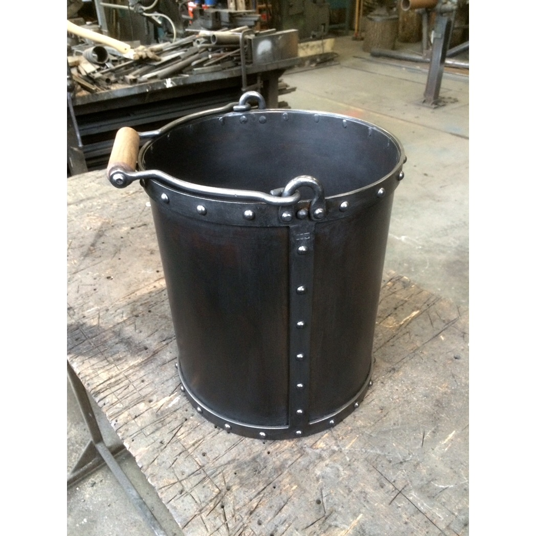 Steel fabricated coal bucket