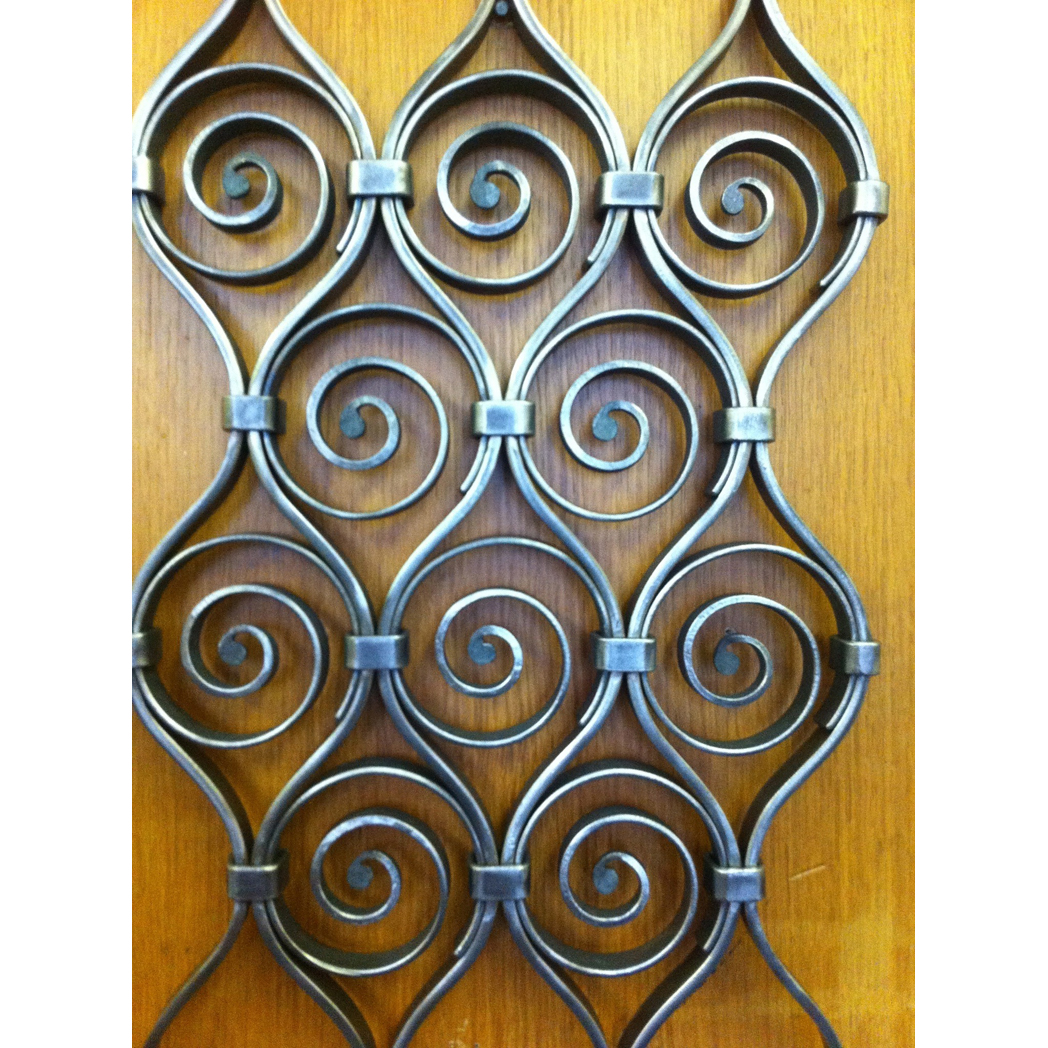 Forged panel sample