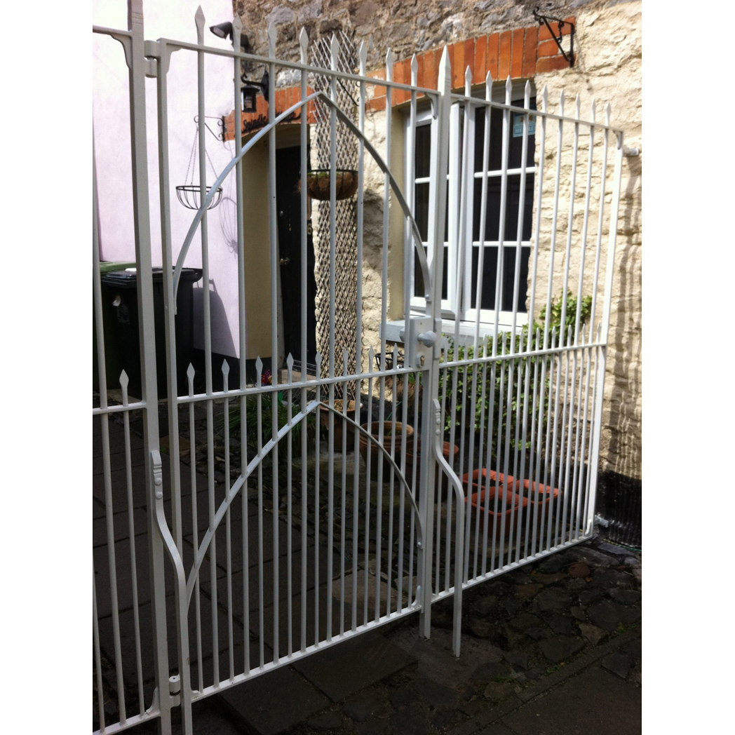 Forged Steel Gate and Railings