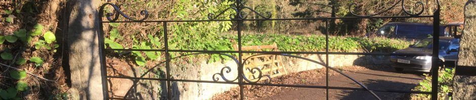 classic style boundary gate